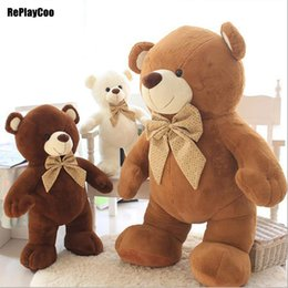 Ted sTuffed bear online shopping - 10Pcs Inch Gaint Joint Teddy Bears Stuffed Real Life Plush Only Skin Without PP Cotton Toy Teddy Bear Ted Bears Toys DX01