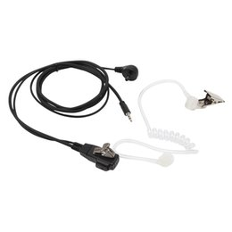 Wholesale 1 Pin mm Covert Acoustic Tube Earpiece For Cobra Radio With PTT