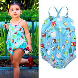 Swimwear Infant Australia - 0-3year Cartoon Kids Swimwear Baby Swimwear Girls Swimsuit One-piece Girls Swimwear Infant Bikini Kids Bathing Suits baby girl clothes A4742