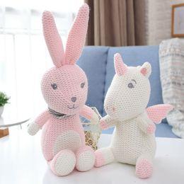 Small Stuffed toyS online shopping - New Products Stuffed Elephant Originality Unicorn Pacifying Dolls Woollen Yarn Small Bell Plush Toys Kids Lovely Soft my N1