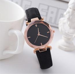 $enCountryForm.capitalKeyWord Australia - New Fashion Women Leather Casual Watch Luxury Girls Analog Quartz Crystal Wristwatch mujer Multi-color watches Gift