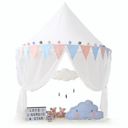 $enCountryForm.capitalKeyWord Australia - Child Play Tent Canopy Kids Toy Tent Girl Princess Teepees baby Playhouse Tipi Bed Net Room Decoration Nursery Reading Corner