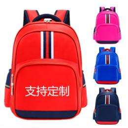Wholesale English style Primary School children's backpack printed print men's and women's schoolbag female schoolbag backpack