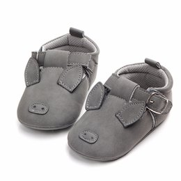 baby prewalkers first shoes NZ - Moccasins Baby Boys Girls Shoes Cartoon Animal Newborn Baby Shoes Infant Toddler Soft Sole Prewalkers First Walker