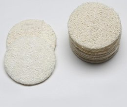 Towel Outlets Australia - Loofah Cleansing Tablet Factory Outlet Exfoliating Dead Skin Diameter 5.5cm Bath Rub Wholesale Wash Towel SN2207