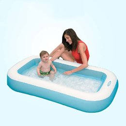 $enCountryForm.capitalKeyWord Australia - Inflatable Baby Swimming Pool Safety Portable Plastic Outdoor Children Basin Bathtub Infant Toddler Pool Baby Water Play