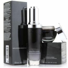 Vente en gros Famous Brand Black Flacon Crème Contour Des Yeux 15 ml + Crème Visage 50 ml Advanced Youth Activating Concentra LotionSkin Care Set DHL