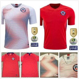 Chile jerseys online shopping - NEW Chile soccer jersey home away Alexis Thailand Quality VIDAL VALDIVIA MEDEL PINILLA VARGAS Copa America Football shirt