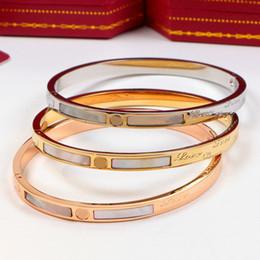 $enCountryForm.capitalKeyWord NZ - Best Titanium Steel Love Bracelet Silver Rose Gold Bangles Women Men Screw Screwdriver Bracelet Couple Jewelry With Original Box Set