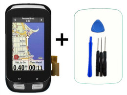 $enCountryForm.capitalKeyWord NZ - Original LCD for GARMIN EDGE 1000 LCD Display Touch Screen Digitizer Glass Replacement with Frame bicycle GPS