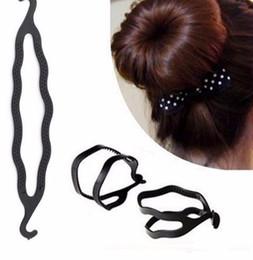 Hair Buns Clip Styles Australia - High Quality Women Hair Braid Tool, Styling Clip Stick Bun Maker Braid Tools