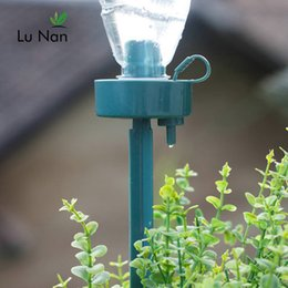 Move Controller Australia - Diy Automatic Self-watering Seepage Moving Plant Waterer Bottles Lazy Flower Water Drip Irrigation Device Controller C19041901