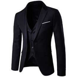 $enCountryForm.capitalKeyWord UK - Men's Suits Suit + Vest + Pants 3 Pieces Sets Slim Suits Wedding Party Blazers Jacket Men's Business Groomsman Suit Pants Vest Sets