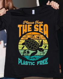 $enCountryForm.capitalKeyWord Australia - Turtle Please Keep The Sea Plastic Free Vintage Men T Shirt Cotton S 6xl