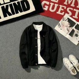 $enCountryForm.capitalKeyWord Australia - 2019 New Brand XBC02 Men's Denim Jacket Fashion Jeans Jackets Slim Fit Casual Streetwear Vintage Men Jean outwear