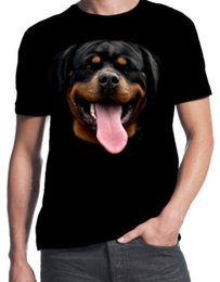 $enCountryForm.capitalKeyWord UK - Rottweiler Face Dog Owner Puppy Rottie Happy Pet New Cute Mens Black T Shirtman T Shirt Round Collar Tees