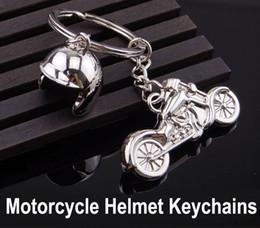 $enCountryForm.capitalKeyWord Australia - 3D Creative Motorcycle Helmet Shaped Men Car Keychain Key rings For Women Bag Pandent Accessories Souvenirs Custom logo Free DHL G660Q A
