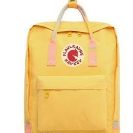 Cheap baCkpaCks for girls online shopping - Original Cheap Yellow Unisex Schoolbag East Arctic Fox Backpacks Waterproof Backpacks For Couple Travel Children Mini Backpacks On Sale