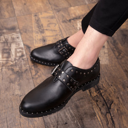formal working shoes 2019 - Italian Designer comfortable working business men Shoes Leather Lace Up Formal Dress Oxfords Party Office Wedding shoes
