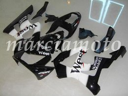 cbr929rr fairings UK - New (Injection molding) ABS Fairing Kits Fit For Honda CBR929RR 2000 2001 cbr929rr 00 01 Fairings set Black and White