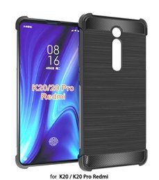 $enCountryForm.capitalKeyWord NZ - For Xiaomi Redmi 6A & Redmi 6 7 7A Pro Redmi K20 Pro  Note 7 Case armor carbon fiber Soft TPU Back Skin Gel Silicon Protective Shell Cover
