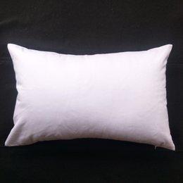 1шт 11x17in 200GSM толщиной пустой белый хлопок саржа пиломатериал наволочка для DIY краски / печати чистого хлопка белый наволочка для экрана DIY на Распродаже