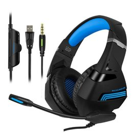 Wire Games Australia - Wired Gaming Headphones Game Headset Noise Canceling Earphone with Microphone Volume Control For PC Laptop Smart Phone #465