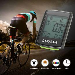 Bicycle Wireless Lcd Australia - bike Lixada Wireless Cycling Bicycle Bike Computer Multi-Function LED Display Waterproof Odometer Speedometer Cadence LCD