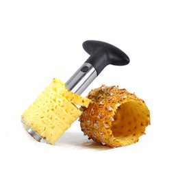 pineapple knife peeler 2019 - Stainless Steel Pineapple Peeler Knife Kitchen Tool Pineapple Corer Slicers Fruit Tools Pineapple Corer Cutter Easy Tool