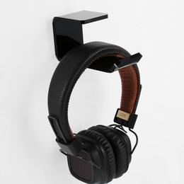 $enCountryForm.capitalKeyWord Australia - Fashion Headphone Stand With Stick Headset Holder Wall Desk Display Headset Stand L Shape Bracket Headphone Hanger Accessories