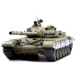 russian arm Canada - 1:16 Russian T-72 Main Battle Tank 2.4G Remote Control Model Military Tank With Sound Smoke Shooting Effect - Basic Edition