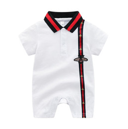 $enCountryForm.capitalKeyWord UK - 2020 Summer Short Sleeved Jumpsuit For Newborn Romper Character Baby Boy Clothes and Baby Girl Clothes 0-24cm Baby Rompers Summer