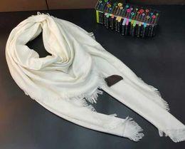 $enCountryForm.capitalKeyWord Australia - 2019 new fashion brand classic retro mixed Cotton Scarf Woman Letter Printing Scarves Shawl Wrap Large square 140*140CM. Free shipping