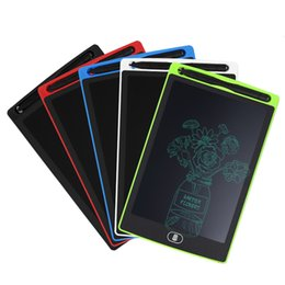 ElEctronic draw board online shopping - LCD Writing Tablet inch Touch Pad Kids Electronic Graphic Drawing Board Tablet Portable Handwriting Paper Sketching Erasable Pad