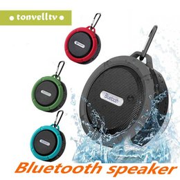 $enCountryForm.capitalKeyWord Australia - Mini C6 IPX7 Outdoor Sports Shower Waterproof Wireless Bluetooth Speaker Suction Cup Handsfree MIC Voice Box For iPhone6 Plus HTC Samsung