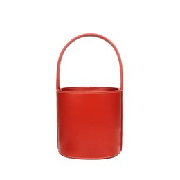 Handbag Shapes Australia - New 2019 Designer Classic Barrel-shaped Bucket Bag Women Split Leather Handbags Ladies Bag Messenger Bags For Female An869