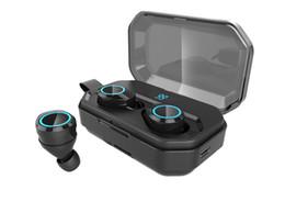 $enCountryForm.capitalKeyWord UK - Realtek chip X6 pro tws bluetooth 5.0 headphones ture wireless stereo Earphones touch control wireless charging 3000mah box ,charge mobile