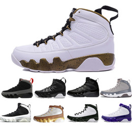 1dc4d22c4538 9 9s men basketball shoes Bred LA Mop Melo Anthracite Black white the spirit  Cool Grey Lakers PE mens sports Sneakers trainers designer