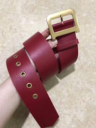 $enCountryForm.capitalKeyWord NZ - 2019 MEN's Genuine Leather Waist Strap Belts Smooth Metal Buckle Gold Silver Cow Leather Luxury Man's belt ceinture HOT Fashion