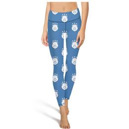 $enCountryForm.capitalKeyWord UK - Huddersfield Town A.F.C.The Terriers blue white yoga pants High waist yoga pants Womens Gym yoga pants breathable fashion tights capri Leg
