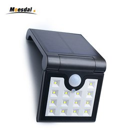 Wholesale Solar Fold Lamp LEDs Solar Light Outdoor Motion Sensor Foldable Garden IP65 Waterproof Security Wireless Portable Lights