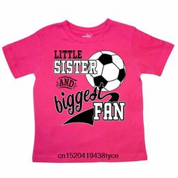 $enCountryForm.capitalKeyWord NZ - Inktastic Little Sister And Biggest Fan- Soccer Player Toddler T-Shirt Sports