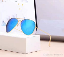 $enCountryForm.capitalKeyWord Australia - 1pcs Classic Style Brand Mens Womens Pilot Gradient UV400 Sunglasses Designer Sun Glasses 18 colors 58mm Glass Lenses TOP quality
