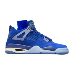 Media Player Australia - 4s gators Florida Blue 4 Basketball Shoes player edition TOP Factory Version mens trainers 2019 suede Sneakers with Box