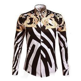 China Harajuku style new men women's 3D print shirt zebra-stripe golden flower coat baseball jacket fall winter coat C19041101 cheap zebra winter jacket suppliers