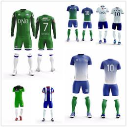 c8e034fe9 custom Men kids survetement football jerseys team sport kit mens soccer  jersey set uniforms shirts shorts maillot de foot custom print