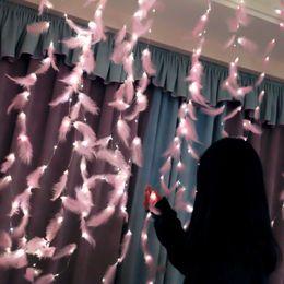 $enCountryForm.capitalKeyWord Australia - Explosion models led curtain light indoor girl ins lighting holiday decoration copper wire remote control usb small lantern
