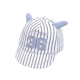 fcca5a20e36 Baby Hat Baseball Cap With Cartoon Ears Resign Kids Hat for a Boy Girl Sun  Summer Cotton Baby Caps Causal Children s