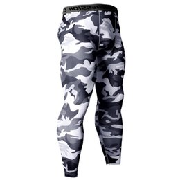 e647369f713190 Camouflage Compression Tights Pants Men Gyms Fitness Sporty Leggings Male  Joggers Workout Skinny Trousers Sportswear Bottoms