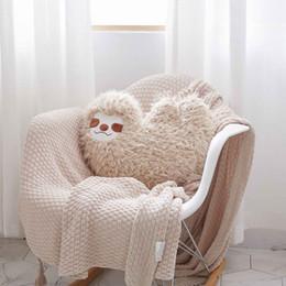 $enCountryForm.capitalKeyWord NZ - Nooer New Arrival Simulation Sloth Plush Toy Kids Doll Soft Cushion Sofa Throw Pillow Girlfriend Kids Birthday Gift Home Decor Y19062803